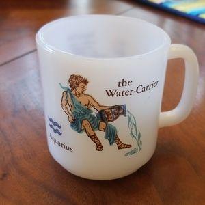Vintage Aquarius mug
